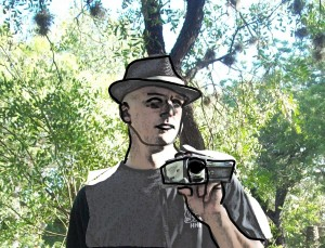 Quick mockup of online comic